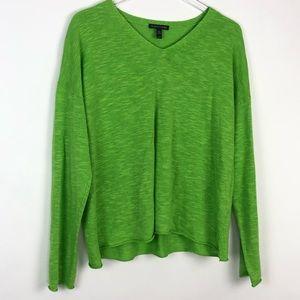 Eileen Fisher Organic Linen & Cotton Boxy Sweater